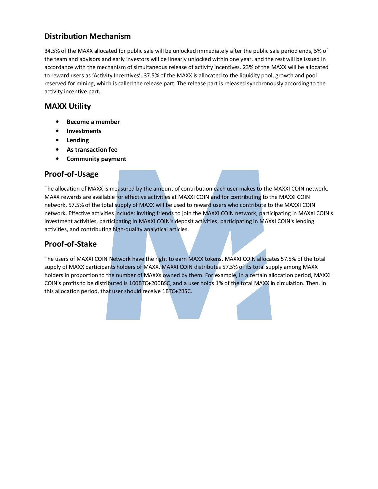 Maxxi Coin Whitepaper 4